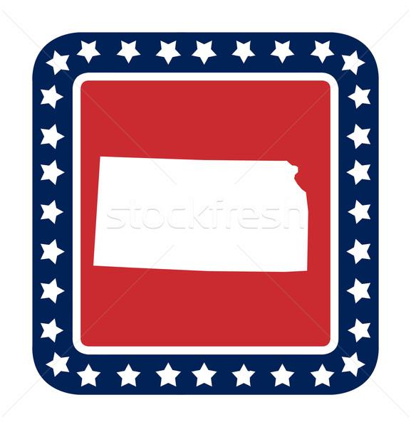 Kansas state button Stock photo © speedfighter
