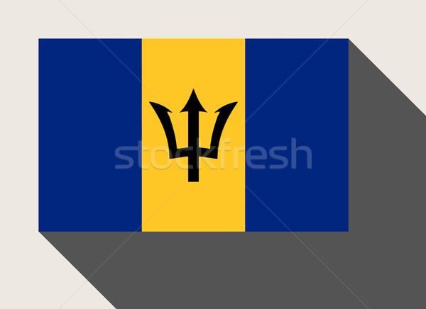 Barbados flag Stock photo © speedfighter
