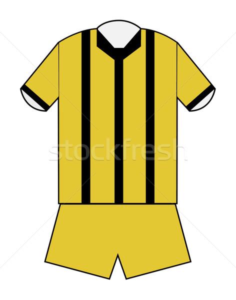 Blank football or soccer kit Stock photo © speedfighter