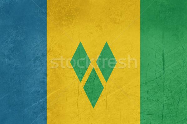 Grunge Saint Vincent and Grenadine Stock photo © speedfighter