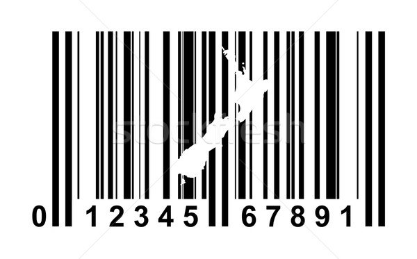 New Zealand bar code Stock photo © speedfighter