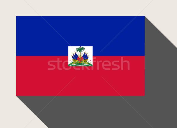 ハイチ フラグ Webデザイン スタイル 地図 ボタン ストックフォト © speedfighter