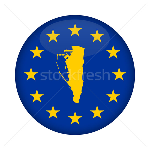 Gibraltar kaart europese unie vlag knop Stockfoto © speedfighter