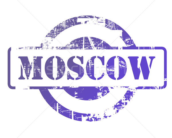 Moscow stamp Stock photo © speedfighter