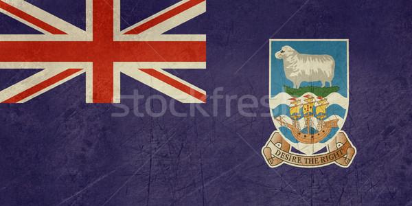 Grunge Falkland Islands flag Stock photo © speedfighter