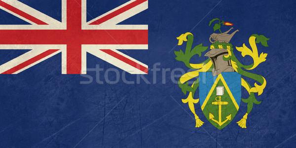 Stock photo: Grunge Pitcairn Islands