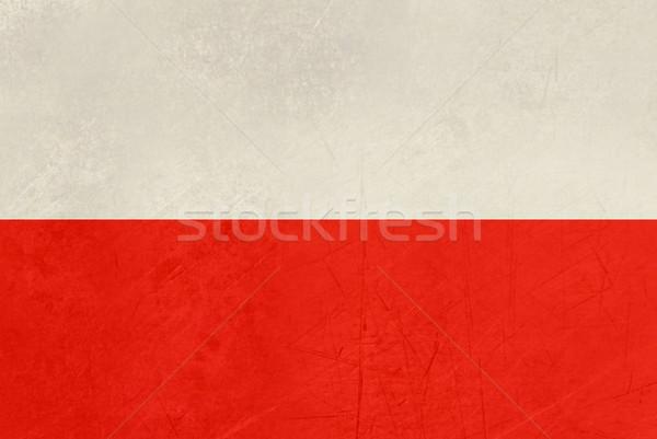 Grunge flag of Lucca region of Italy Stock photo © speedfighter