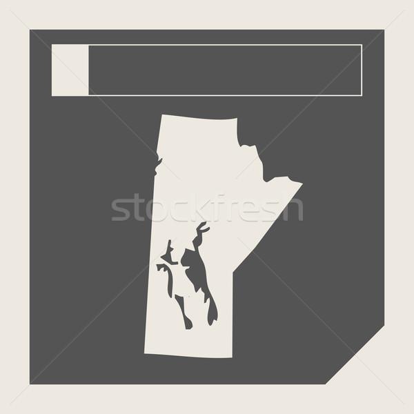 Manitoba state in Canada Stock photo © speedfighter