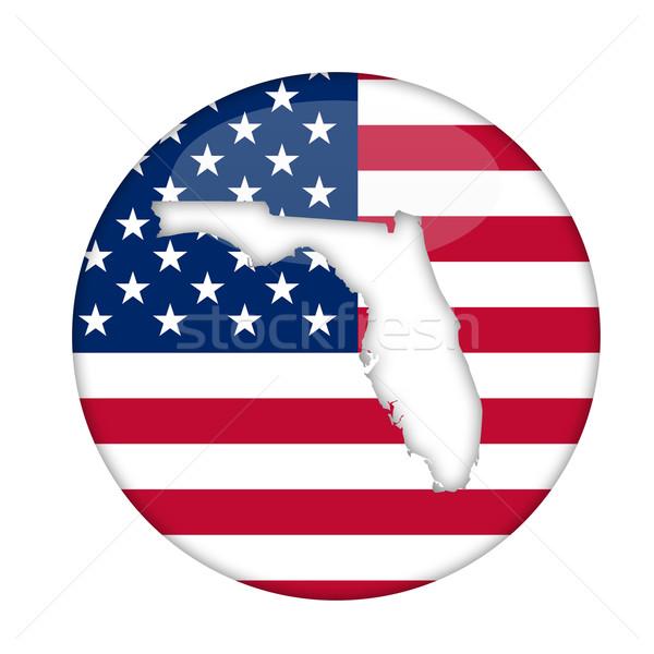 Flórida américa distintivo isolado branco negócio Foto stock © speedfighter