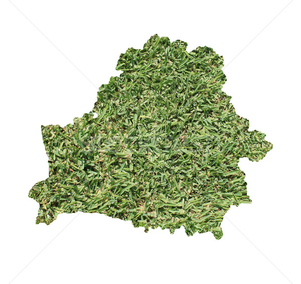 Belarus environmental map Stock photo © speedfighter