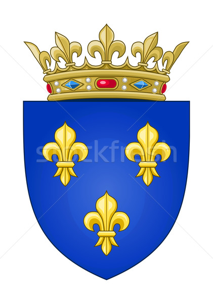 French coat of Arms Stock photo © speedfighter