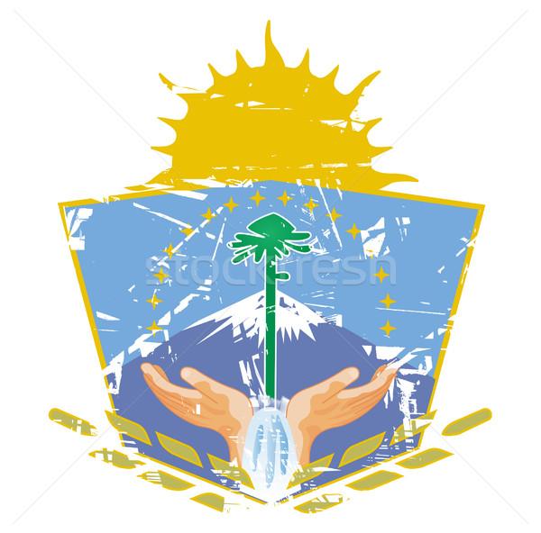 Neuquen coat of arms Stock photo © speedfighter