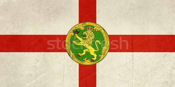 Grunge Alderney Flag Stock photo © speedfighter