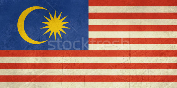 Grunge Malaysia Flag Stock photo © speedfighter