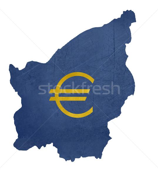 европейский валюта символ карта Сан-Марино изолированный Сток-фото © speedfighter