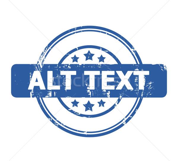 Alt Text Stock photo © speedfighter