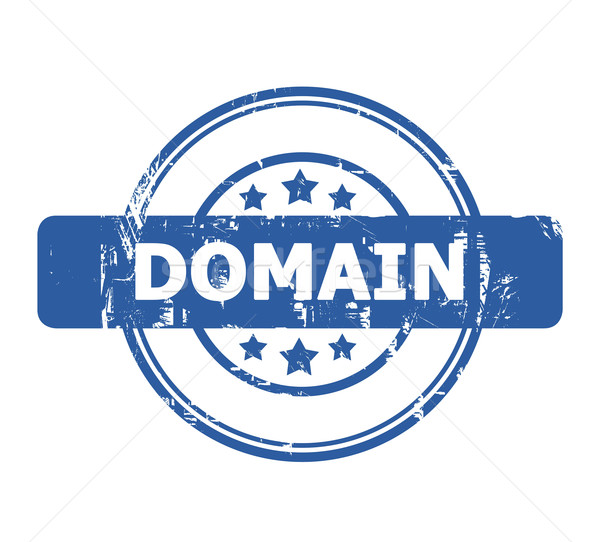 Domain stamp Stock photo © speedfighter