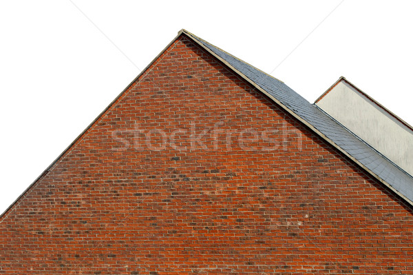 Isolated rooftops of modern houses Stock photo © speedfighter