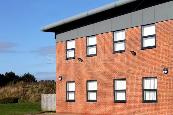 Vide modernes immeuble de bureaux externe vue de côté affaires Photo stock © speedfighter