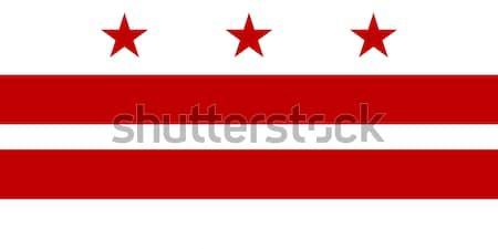 Washington D.C flag Stock photo © speedfighter
