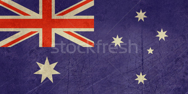 Grunge Australia Flag Stock photo © speedfighter