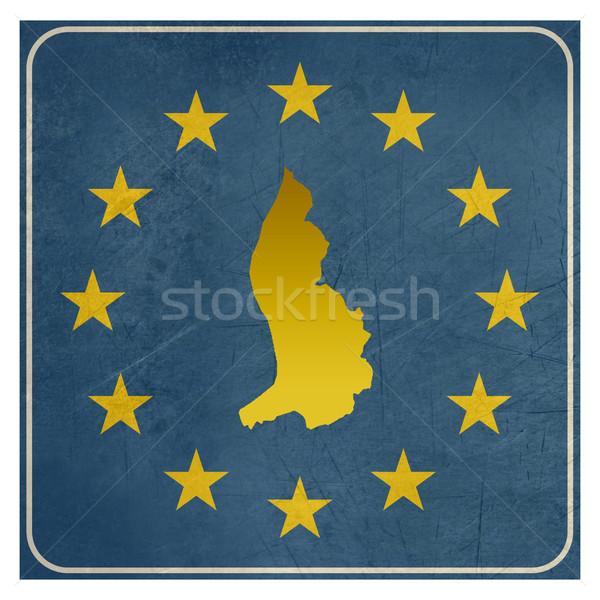Liechtenstein European sign Stock photo © speedfighter