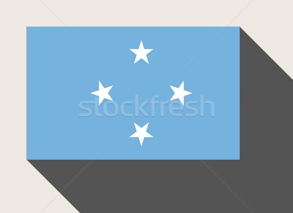 ミクロネシア フラグ Webデザイン スタイル 地図 ボタン ストックフォト © speedfighter