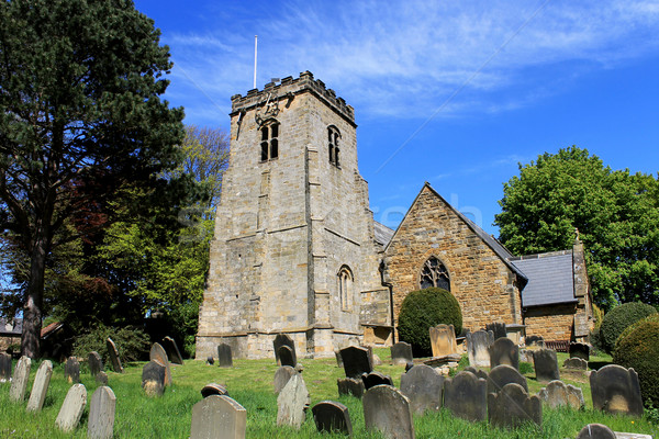 Old church and cemetery  Stock photo © speedfighter