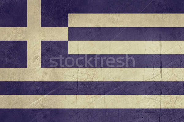 Grunge Greece Flag Stock photo © speedfighter