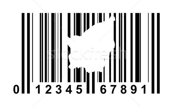 San Marino bar code Stock photo © speedfighter