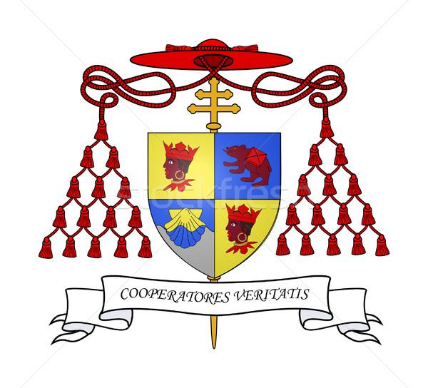 Cardinal Ratzinger coat of arms Stock photo © speedfighter