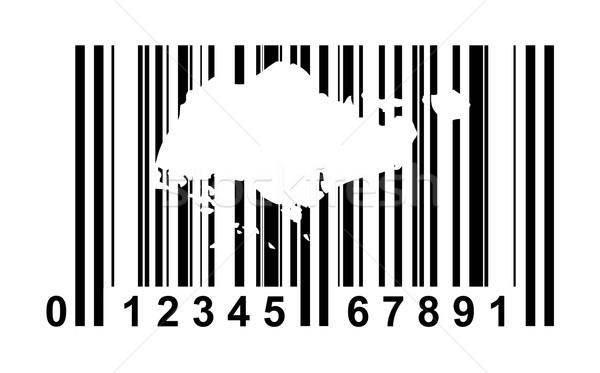 Singapore streepjescode winkelen geïsoleerd witte reizen Stockfoto © speedfighter