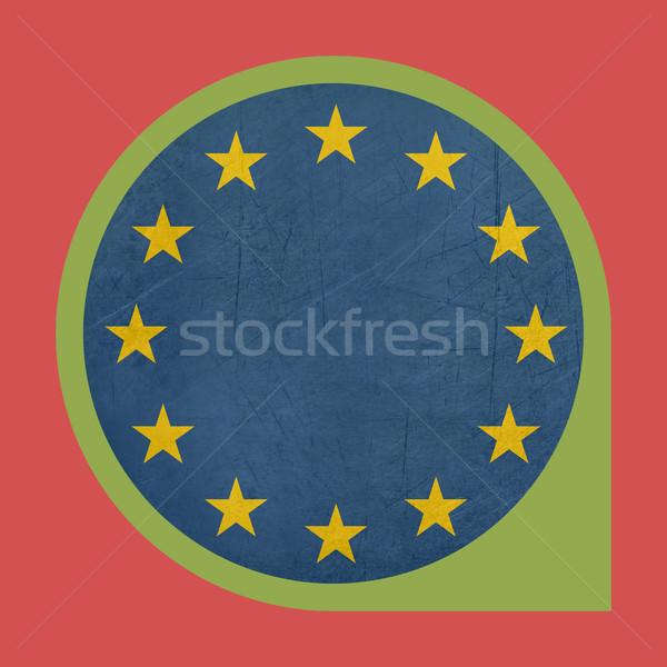European Union marker button Stock photo © speedfighter