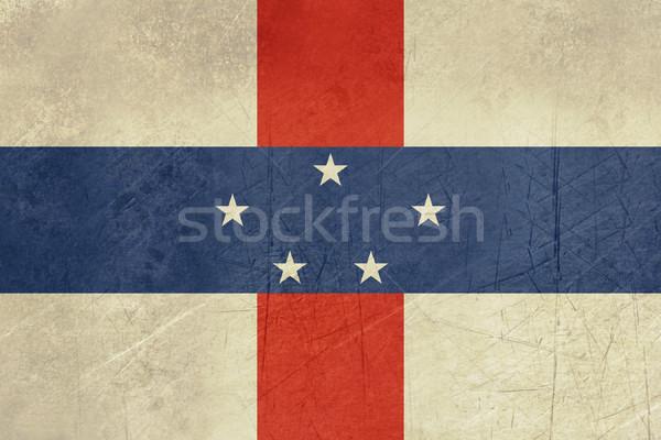 Grunge Netherlands Antilles Stock photo © speedfighter