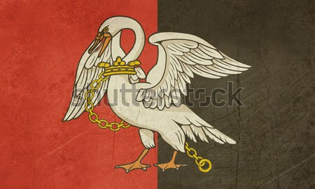 Buckinghamshire County Flag Stock photo © speedfighter