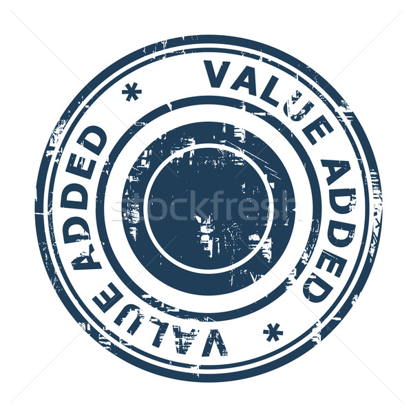 Value added business stamp Stock photo © speedfighter