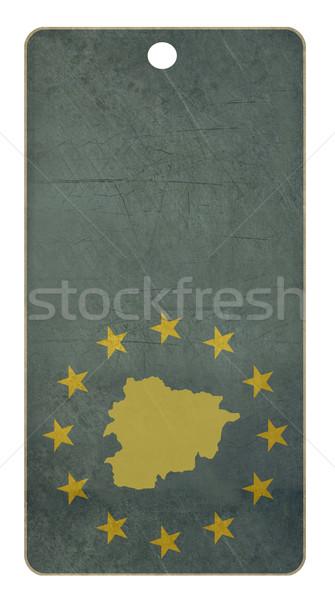 Stockfoto: Europese · unie · Andorra · reizen · tag · geïsoleerd