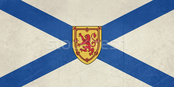 Grunge Nova Scotia state flag Stock photo © speedfighter