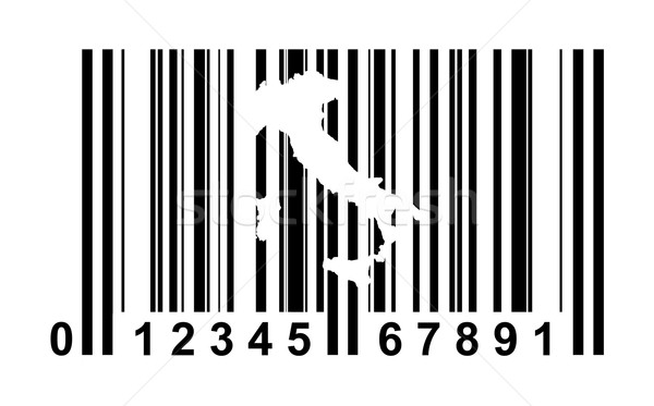 Italy Bar code Stock photo © speedfighter