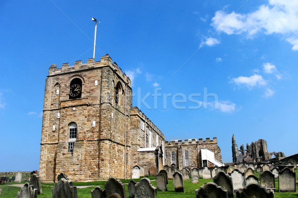 St Marys Church in Whitby Stock photo © speedfighter