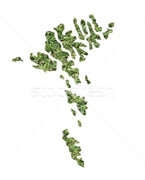 Faroe Islands environmental map Stock photo © speedfighter