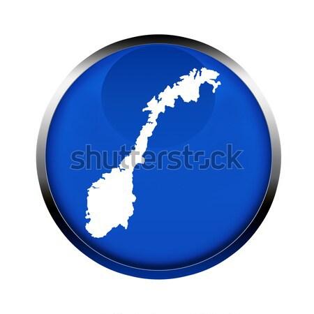 Norvège carte bouton couleurs européenne Union Photo stock © speedfighter