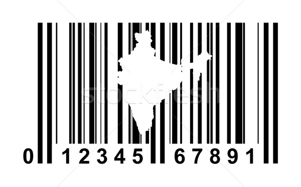 India Bar code Stock photo © speedfighter