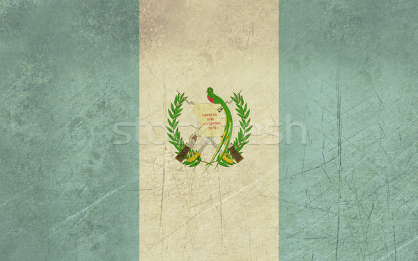 Grunge Guatemala Flag Stock photo © speedfighter