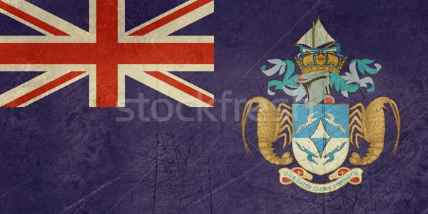 Grunge Tristan da Cunha flag Stock photo © speedfighter