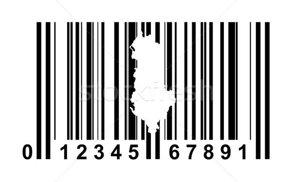 アルバニア バーコード ショッピング 孤立した 白 ビジネス ストックフォト © speedfighter