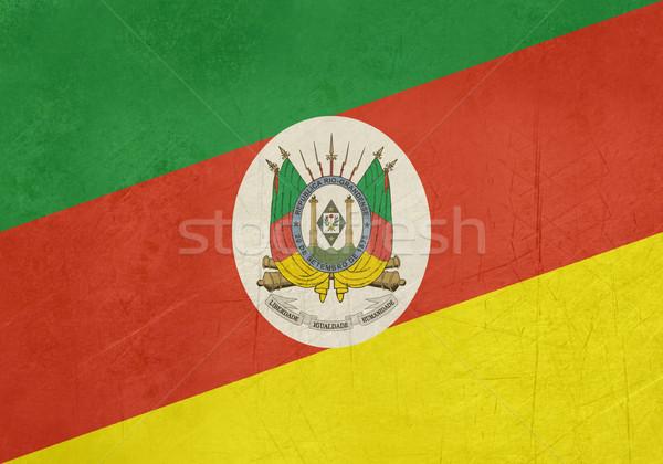 Сток-фото: Гранж · флаг · Рио · Бразилия