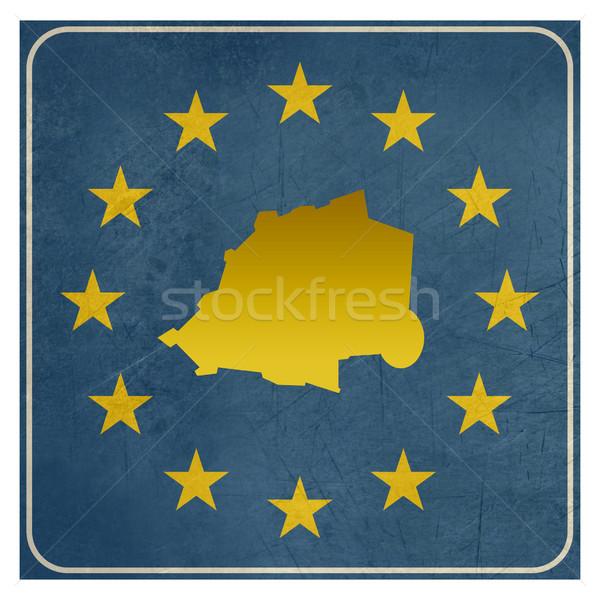 Ватикан европейский знак изолированный белый звезды Сток-фото © speedfighter