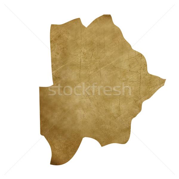 Ботсвана Гранж Карта сокровищ карта сокровище стиль Сток-фото © speedfighter
