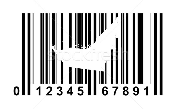 United Arab Emirates Bar code Stock photo © speedfighter